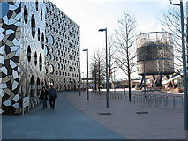 TQ3980 : Penrose Way, North Greenwich by Stephen Craven