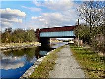 SJ6999 : Morley's Bridge, Bridgewater Canal by David Dixon