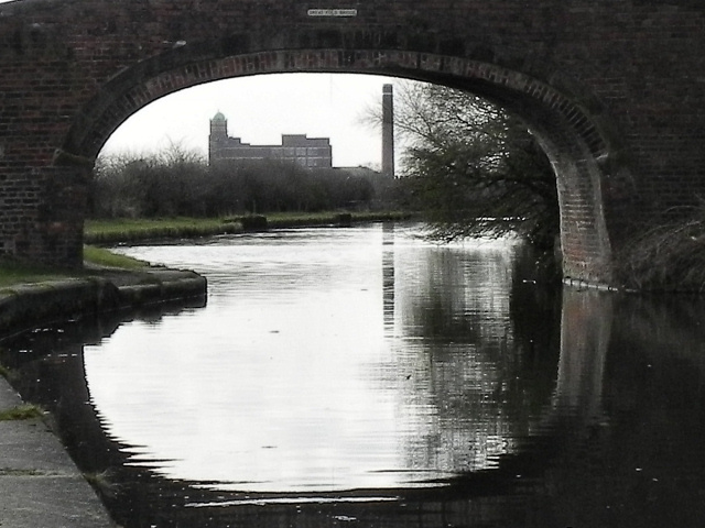 Bridgewater Canal Through The Bridge