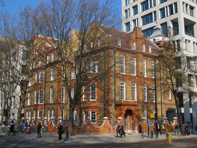 The former Elizabeth Garrett Anderson Hospital for Women, Euston Road, NW1