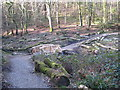 SW8340 : New footbridge over the stream at the head of Lamouth Creek by Rod Allday