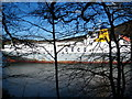 SW8440 : The car carrier 'Autopremier' moored in the River Fal by Rod Allday