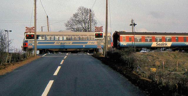 Railbus, Slaght, Ballymena