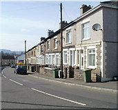 ST1195 : Caerphilly Road houses, Nelson by Jaggery