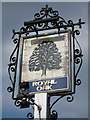 TQ7131 : The Royal Oak sign by Oast House Archive