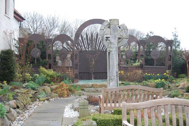 Lindisfarne Gospels Garden