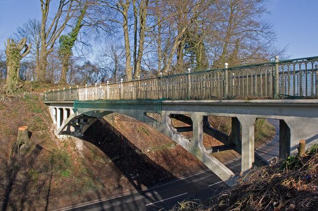 Reigate Hill Footbridge