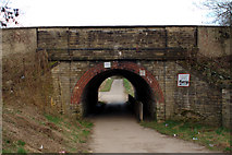 SE3118 : Railway Bridge, Horbury Junction by Mark Anderson