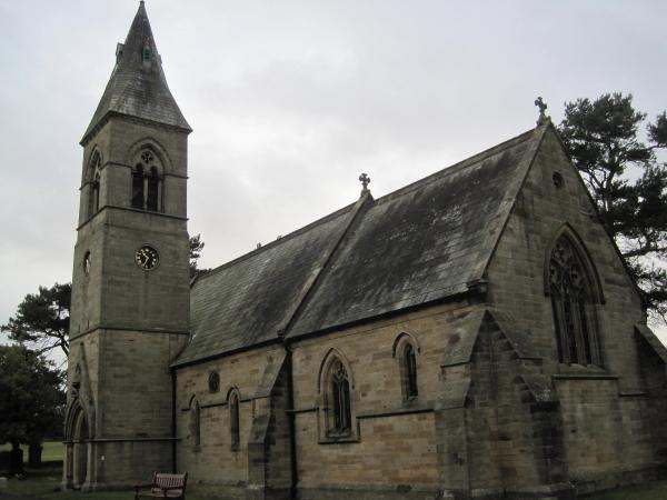Church of Holy Saviour, Milbourne