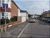 SZ0894 : Bournemouth - Winton : Iris Road by Lewis Clarke