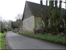 ST9929 : Minor road, Fovant by Maigheach-gheal