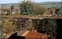 J3582 : Railway bridge, Whiteabbey station by Albert Bridge
