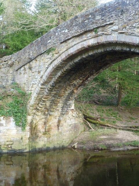 Maiden Bridge arch, Newbattle