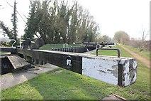 SU6168 : Arm on the lock by Bill Nicholls