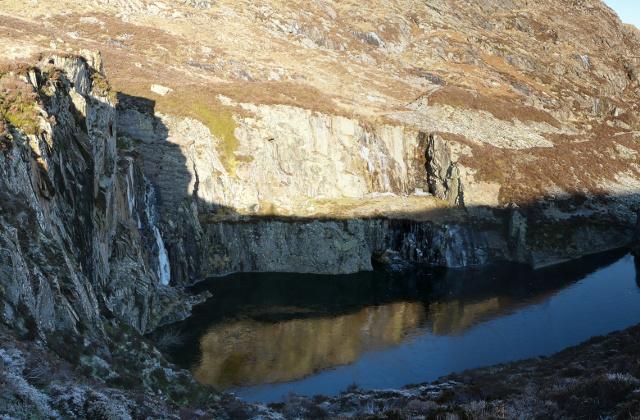 Frozen Quarry Pool