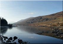 SH7157 : Llynnau Mymbyr from the Plas Y Brenin Bridge by Gareth Jones