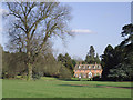 SO7699 : Landscaped grounds and Badger Hall, Shropshire by Roger  Kidd