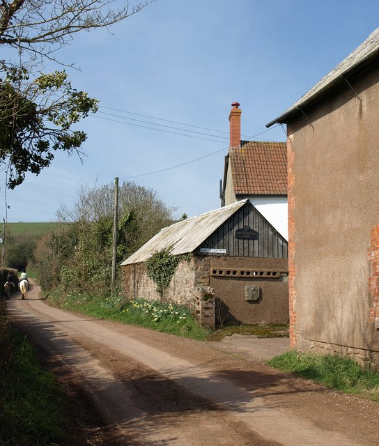 Lane past Champerhaies