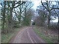 SE2804 : Blackergreen Lane near Lower Coates by Jonathan Clitheroe