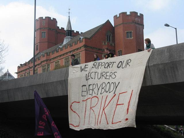 UCU strike day