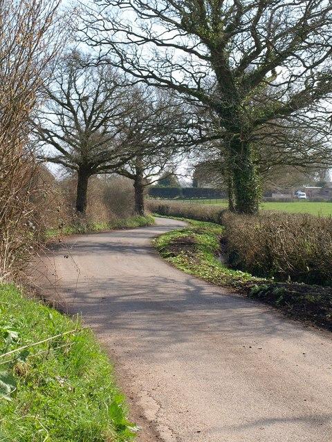 Lane to Westcott