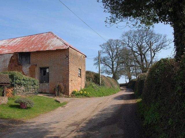 Lane at Westcott