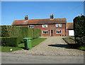 TG1105 : Cottages in Wramplingham Road, Wramplingham by Evelyn Simak