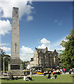 SE3055 : Harrogate's Cenotaph or War Memorial. by Barrie Tobias