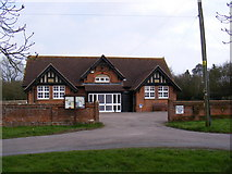 TM0652 : Barking Village Hall by Adrian Cable