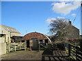 NZ0574 : Farm Buildings, North Fens by Les Hull