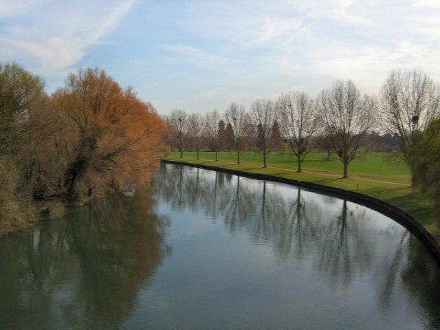 River Thames from Victoria Bridge, Windsor