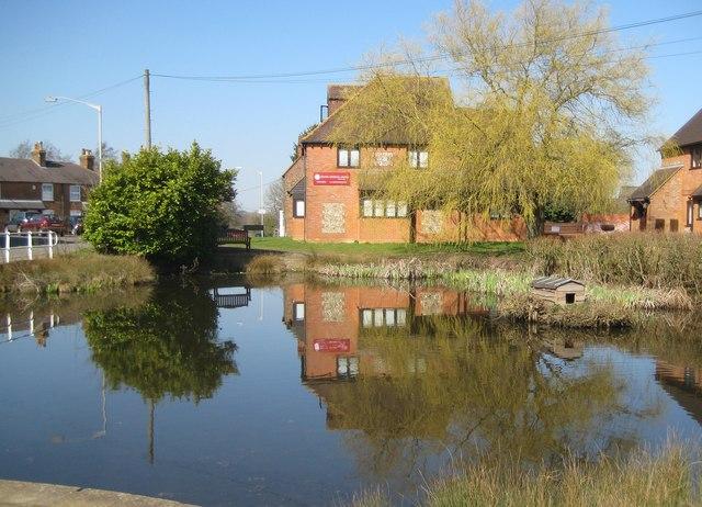 Lane End: The Village Pond
