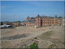 SO8455 : Former Worcester Royal Infirmary building by Rob Newman