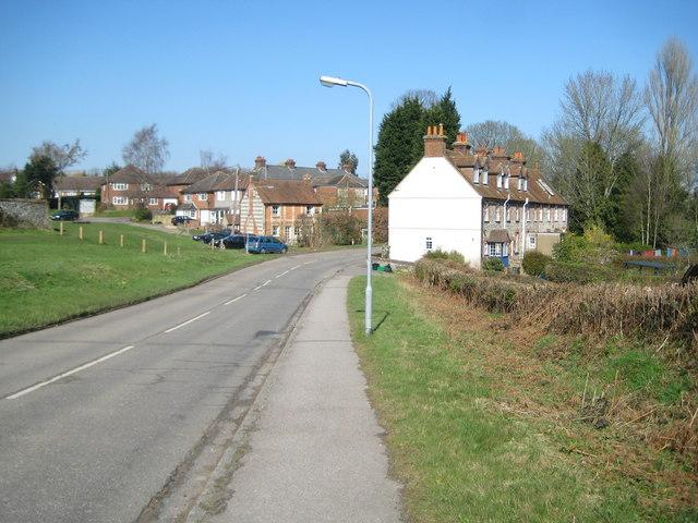 Lane End: Church Road