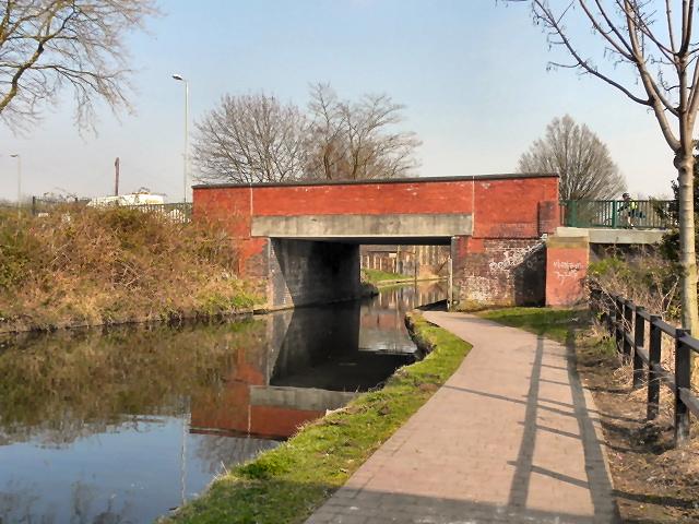 Bridgewater Canal, Butts Bridge