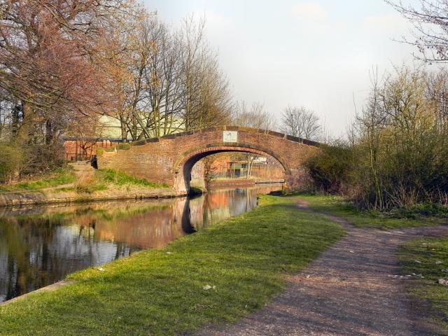 Bridgewater Canal, Hall House Bridge