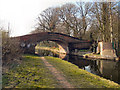 SJ6799 : Hall House Bridge, Bridgewater Canal by David Dixon