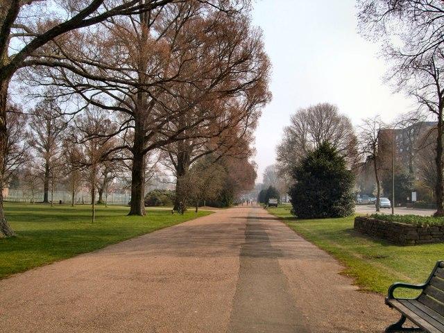 Path in Preston Park