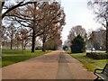 TQ3006 : Path in Preston Park by Paul Gillett