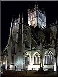 ST7564 : Bath Abbey by Night by Mr M Evison