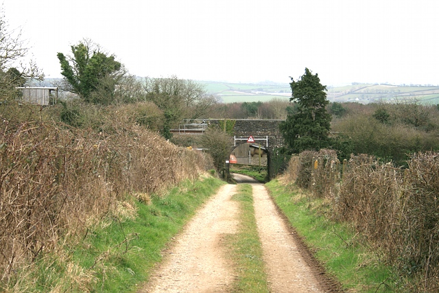 Towards Bere Ferrers station