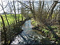 SJ8078 : Mobberley Brook at Great Warford by Anthony O'Neil