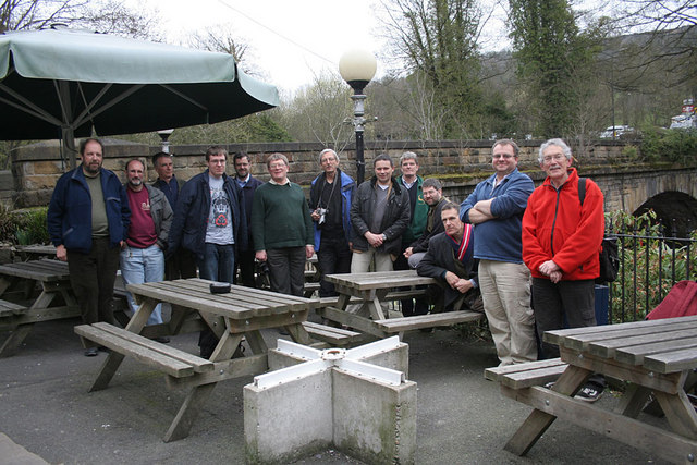 Geograph-ers meet at Matlock Bath