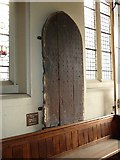 TQ2475 : All Saints, Fulham: ancient church door by Basher Eyre
