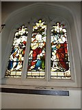 TQ2475 : All Saints, Fulham: stained glass window (3) by Basher Eyre