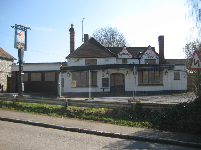 Lane End: The Old Sun public house