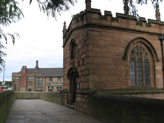 Rotherham - Chantry Chapel and Nellie Denes