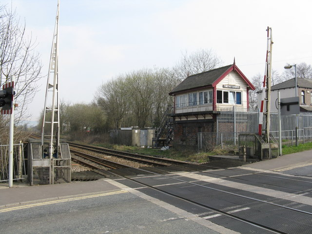 Smithy Bridge signalbox