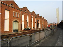 SJ8297 : The first railway goods warehouse by Peter Whatley