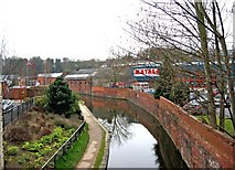 SO8276 : Staffordshire & Worcestershire Canal near Matalan, Kidderminster by P L Chadwick